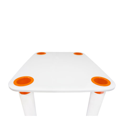 mesa infantil clear little flare
