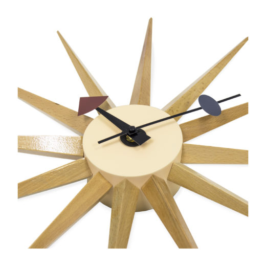Reloj de pared inspirado en wall clock George Nelson