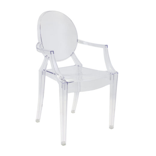 Chaise polycarbonate Louis Ghost
