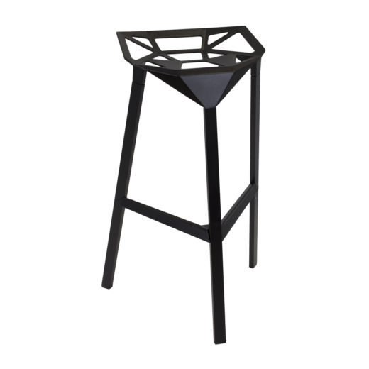 tabouret de bar en métal one stool magis