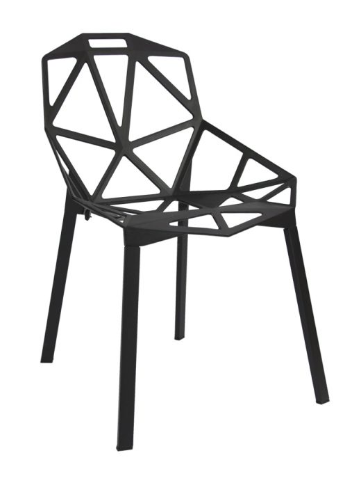 Silla de Diseño One Color Negro