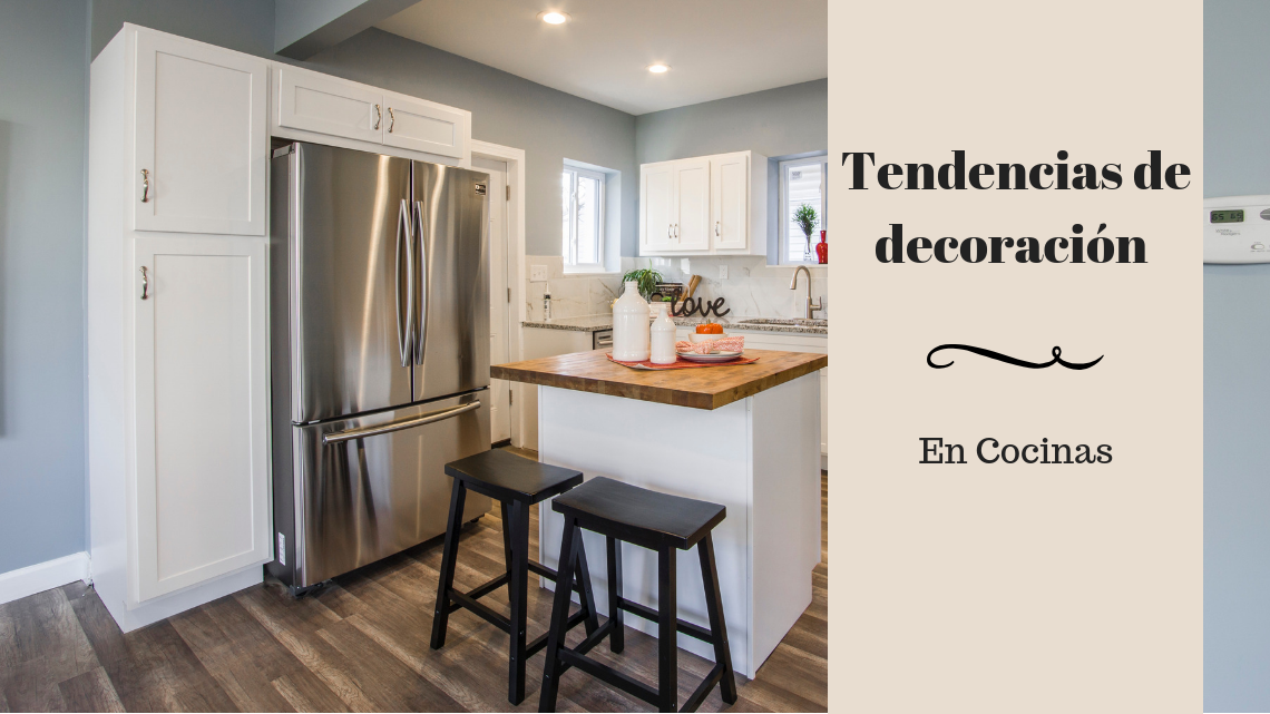 Ideas para decorar cocinas. Tendencias de Decoración de Cocinas